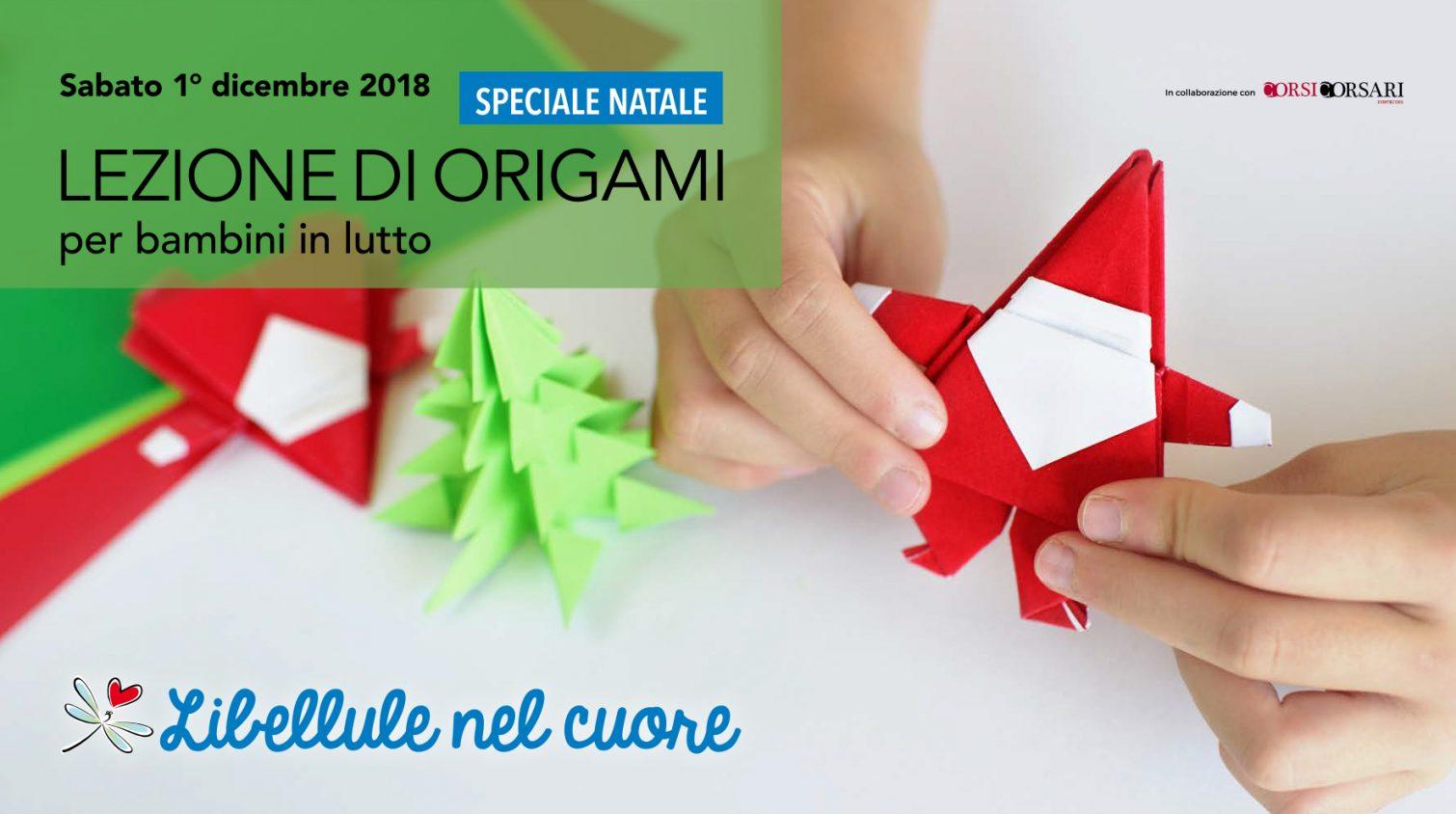 Lezioni di origami per bambini in lutto