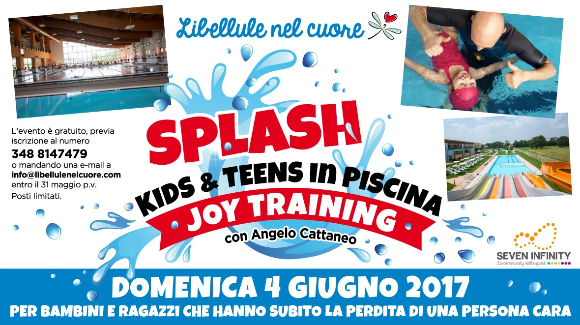 Splash kids & teens in piscina
